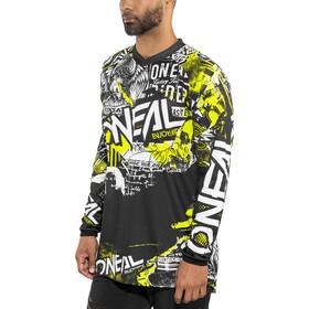 O'Neal Element Koszulka rowerowa z zamkiem błyskawicznym Mężczyźni, attack (black/hi-viz)